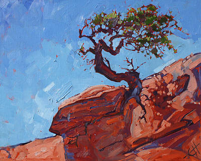 Painting - Canyonlands Pine by Erin Hanson