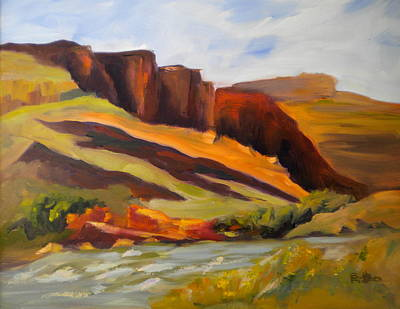 Painting - Canyonlands by Sally Bullers