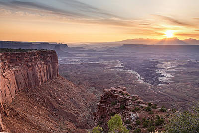 Photograph - Canyonlands Sunrise by James BO  Insogna