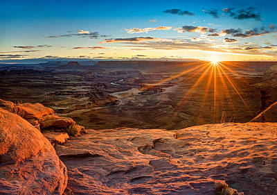 Photograph - Canyonlands Sunset by Dave Koch