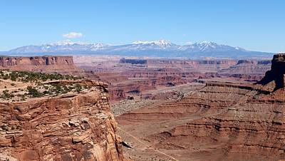 Photograph - Canyonlands View - 24 by Christy Pooschke
