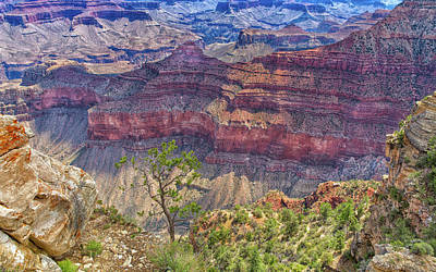 Photograph - Canyons Edge by John M Bailey