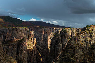 The Plateaus Photograph - Canyon's Evening Light by Joseph Smith