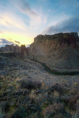 Redmond Photograph - Canyon's Falling Daylight by Ryan Manuel