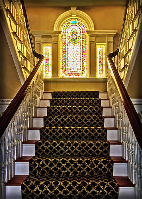 Photograph - Cape May House Entryway by Carolyn Derstine