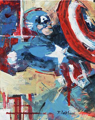 Painting - Cap #3 by David Leblanc