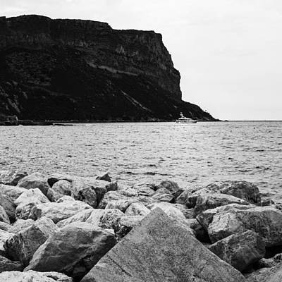Photograph - Cap Canaille In Mono - Square by Georgia Fowler