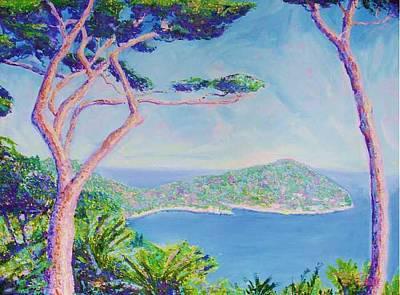 Cap Ferat Provence Art Print by Pixie Glore
