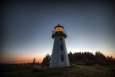 Digital Art - Cap Gaspe Sunset by Patrick Groleau