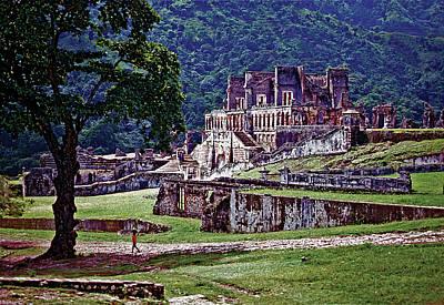 Photograph - Cap-haitien Haiti - Sans Souci Palace by Johnny Sandaire