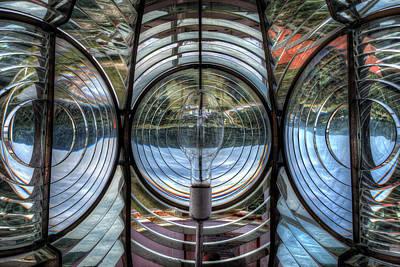 Digital Art - Cap Madeleine Lighthouse by Patrick Groleau