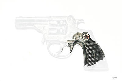 Photograph - Cap Pistol Artifact by Tony Grider