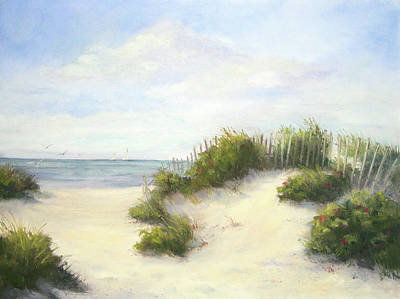 Beach Oil Painting - Cape Afternoon by Vikki Bouffard