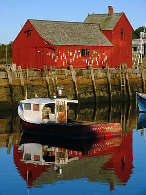 Rockport Ma Photograph - Cape Ann Photography by Juergen Roth