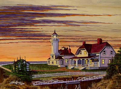 Cape Arago Art Print by James Lyman