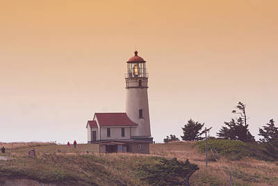 Lighthouse Photograph - Cape Arago Li 6000 by Mary Gaines