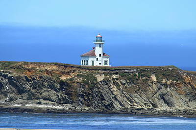 Photograph - Cape Arago Light by Christiane Schulze Art And Photography