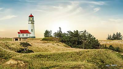 Photograph - Cape Bianco Lighthouse by Walt Baker