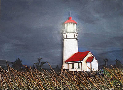 Relief - Cape Blanco Glow by Wendy McKennon