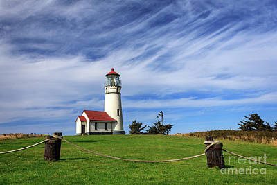 Photograph - Cape Blanco Lighthouse Above The Rope by James Eddy