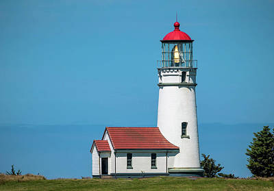 Cape Blanco Lighthouse At Cape Blanco, Oregon Art Print