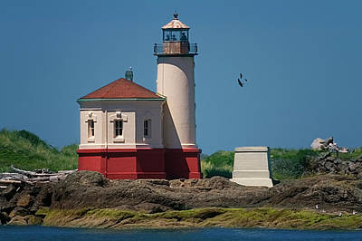 Photograph - Cape Blanco Lighthouse by Diane Schuster