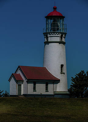 Photograph - Cape Blanco Lighthouse by Laddie Halupa