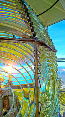 Photograph - Cape Blanco Lighthouse Lens by Pacific Northwest Imagery