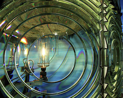 Photograph - Cape Blanco Lighthouse Lens by James Eddy
