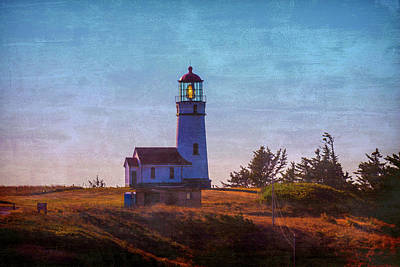 Cape Blanco Lighthouse Oregon Art Print by Garry Gay