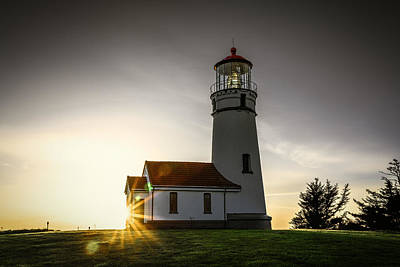 Photograph - Cape Blanco Lighthouse by PhotoWorks By Don Hoekwater