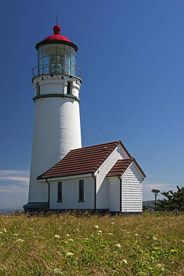 Photograph - Cape Blanco Lighthouse V by Inge Riis McDonald