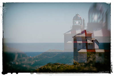 Photograph - Cape Bona Vista Lighthouse by Edser Thomas