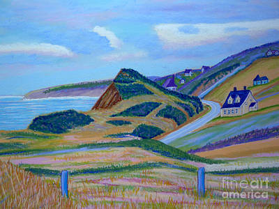 Cape Brenton Highlands Art Print by Rae  Smith PSC
