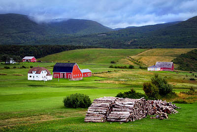 Photograph - Cape Breton Countryside by Carolyn Derstine