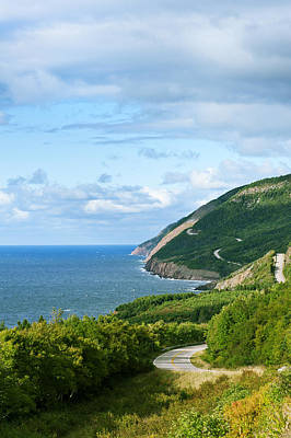 Photograph - Cape Breton Highlands National Park by U Schade