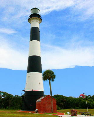 Sebastian Florida Photograph - Cape Canaveral Lighthouse by W Gilroy