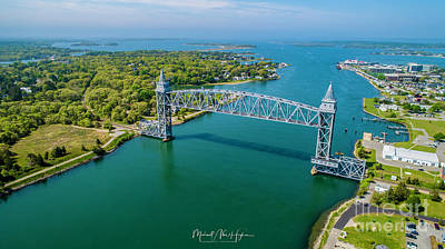 Photograph - Cape Cod Canal Railroad by Michael Hughes
