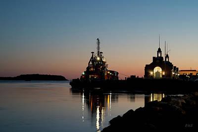 Photograph - Cape Cod Canal Sunset by David Gordon