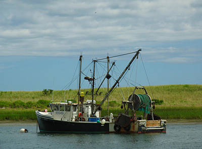 Photograph - Cape Cod Fishing Boat by Juergen Roth