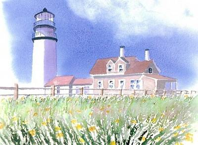 Cape Cod Painting - Cape Cod Light Summer by Joseph Gallant
