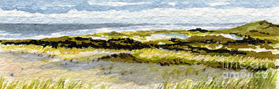 Cape Cod Painting - Cape Cod National Seashore by Heidi Gallo