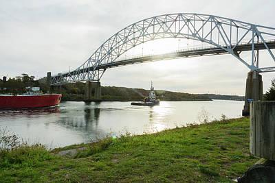 Mans Best Friend - Cape Cod Sagamore Bridge Series #5 by Irwin Sterbakov