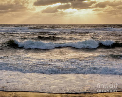 Art Print featuring the photograph Cape Cod Sunrise 2 by Susan Cole Kelly