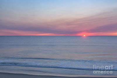 Cape Cod Sunrise Art Print by Richard Sandford