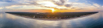 Photograph - Cape Cod Sunset Panorama by Petr Hejl