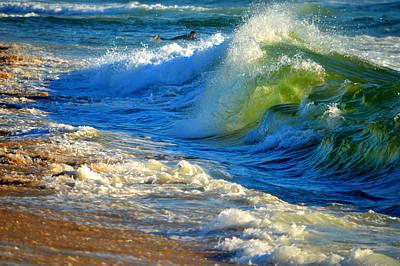Undertow Photograph - Cape Cod Surf by Dianne Cowen