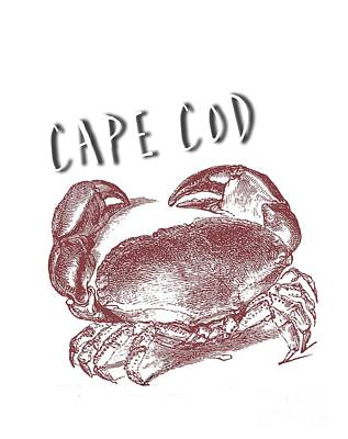 Cape Cod Digital Art - Cape Cod Tee by Edward Fielding