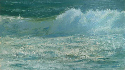 Cape Cod Painting - Cape Cod Wave by Judith Chapman
