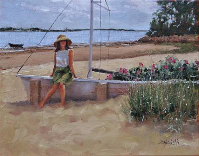 Chatham Painting - Cape Cod Weekend Two by Laura Lee Zanghetti
